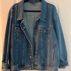 Women's XL Denim Jacket